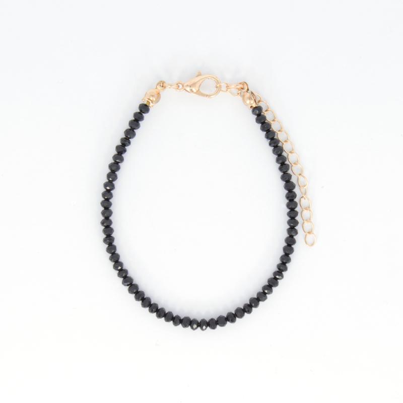 Crystal Bracelet - Black