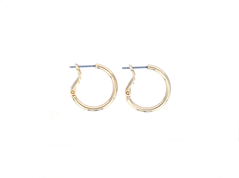 Earrings medium - gold plated