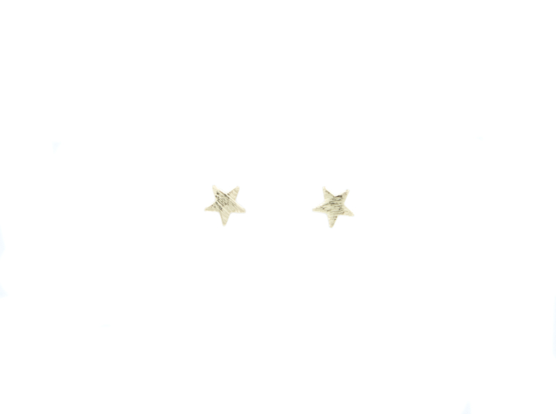 Studs - Star - gold plated