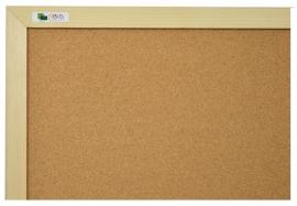 kurk prikbord 60x90 cm. in frame