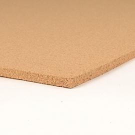 Zelfklevend prikbord naturel 10 mm. dik
