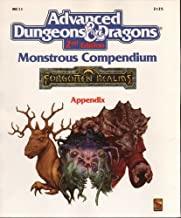 Monster Compendium: Forgotten realms appendix 2