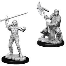 Female Half-Orc Fighter