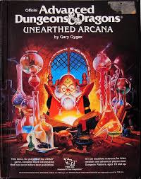 advanced dungeons and dragons unearthed arcana
