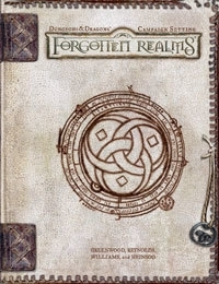Forgotten realms Campaign Settings (Zonder Kaart)