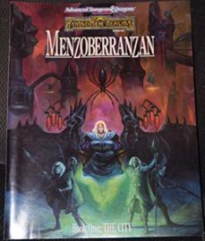 Menzoberranzan city of the drow