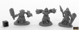 44041: Bloodstone Gnome Warriors (3)