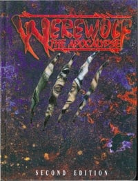Werewolf the Apocalypse 2nd Edition