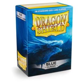 classic dragon shield sleeves 100pcs blue