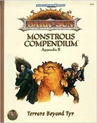 Dark Sun Monsterous Compendium appendix II