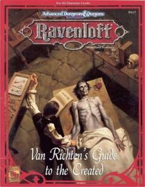 Ravenloft: Van Richten's Guide to the Created