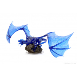 D&D icons of the realms Sapphire dragon