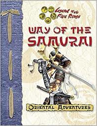 Legend of the five rings: Way of the samurai