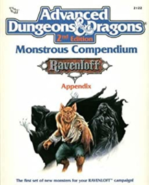 Monster Compendium: Ravenloft appendix