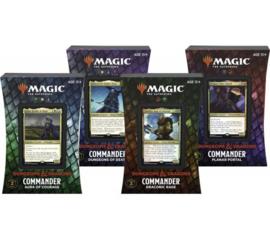 d&d commander deck set