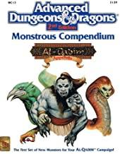 Monster Compendium: Al-Qadim Apendix