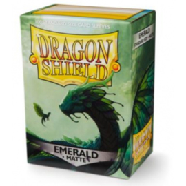 Dragon Shield Matte Sleeves - Emerald (100 Sleeves)