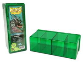 4 compartment storage box - green