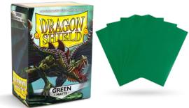 matte dragon shield sleeves 100pcs green