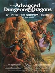 advanced dungeons and dragons wilderness survival guide