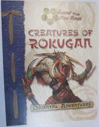 Legend of the five rings: Creatures of Rokugan