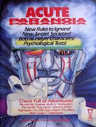 Acute Paranoia