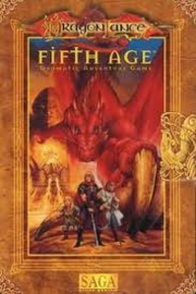dragonlance fifth age dramatic adventure game basis regels