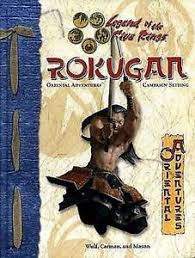 Legend of the five rings:  Rokugan campaign setting