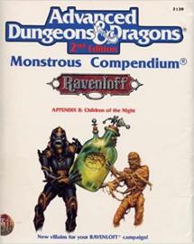 Monsterous compendium 2 children of the night