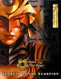 Legend of the five rings: Secrets of the scorpion