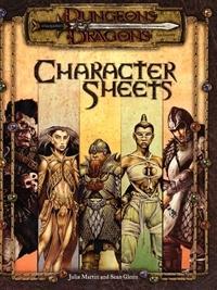 Character Sheets (3e)