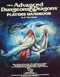 official advanced dungeons & dragons player's handbook by Gary Gygax