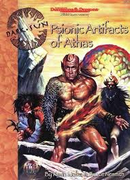 Psionic Artifacts of Athas