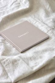 Zwangerschapsdagboek linnen cover