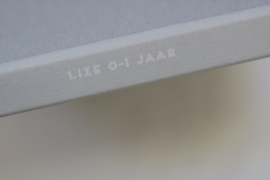 Blanco plakboek linnen cover - LIZE
