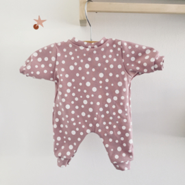 Pakje roze stipjes -Babyborn