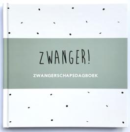 Zwangerschapsdagboek - groen