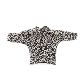 Kleertjes konijnknuffel - Sweater panterprint