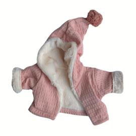 Jasje roze/bont