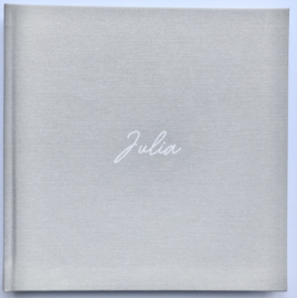 Basisschoolboek linnen cover -JULIA