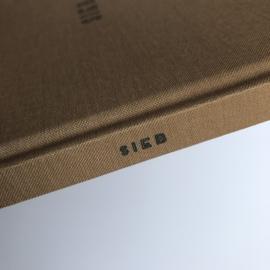Opgroeiboek linnen cover - SIEB