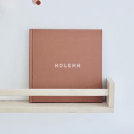Kraambezoekboek linnen cover