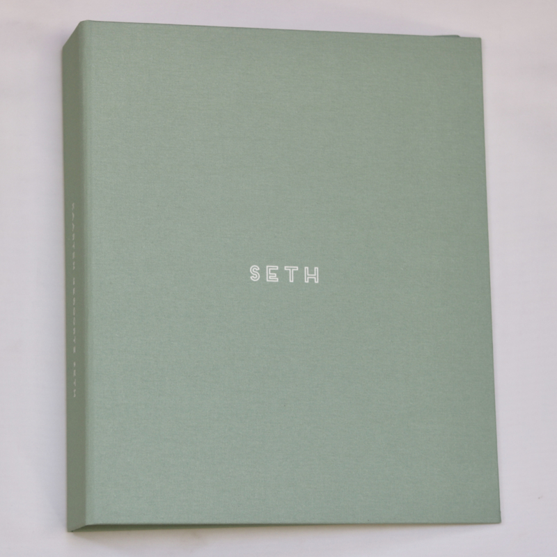 Kaartenmap linnen cover- Seth