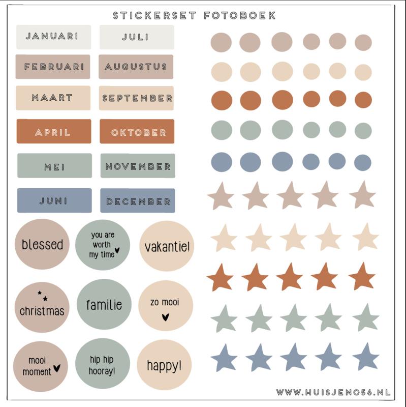 Stickers - fotoboek