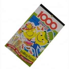 Stickerboek Smileys