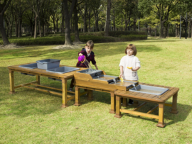 Outdoor Houten Watertafel A
