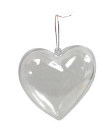 12 x Transparant Hart