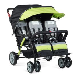 Quad Stroller voor 4