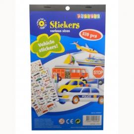 Stickerboek Vervoer
