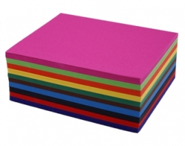 Gekleurd Papier Groot Gemengd